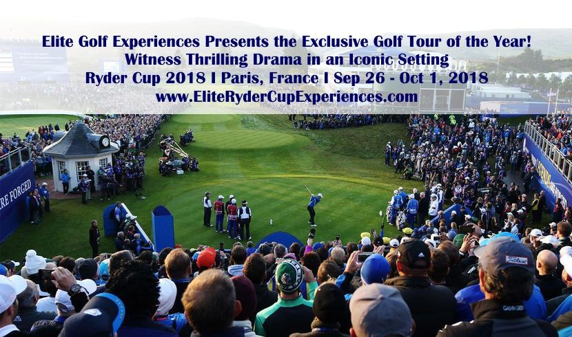 5 Reasons why you should attend the 2018 Ryder Cup in Paris